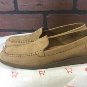 Naturalizer Suede Leather Brown Loafers 8.5 N
